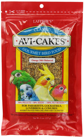 Avi-Cakes Original for Parakeets, Cockatiels & Conures