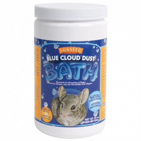 Blue Cloud Chinchilla Bath Dust