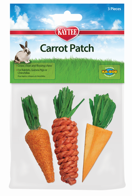 Carrot Patch Chew Toys