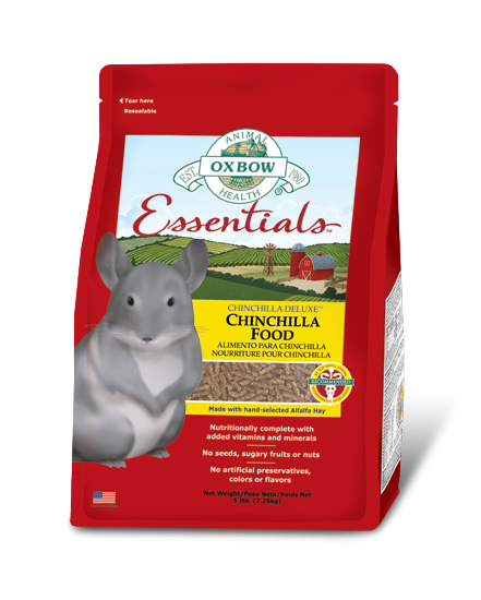 Essentials Chinchilla Food