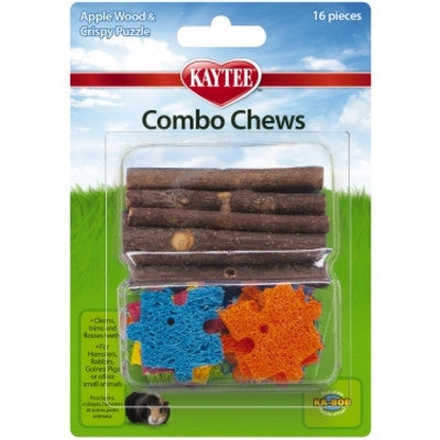 Combo Chews Apple Wood & Cripsy Puzzle