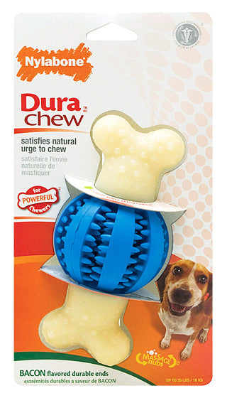 Dura Chew Double Action Chew - Round Ball