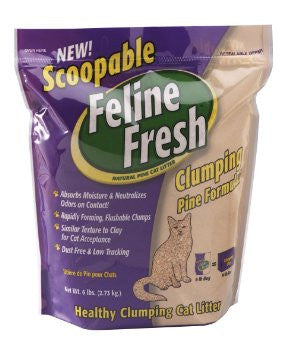 Feline Fresh Scoopable Pine Cat Litter
