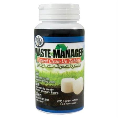 Waste Manager Natural Clean-Up Tablets