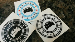 Chicago Car Life decal city colors