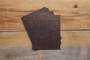 Rustic Print Envelopes