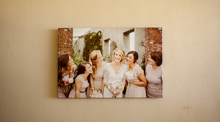 Metallic Canvas Gallery Wraps
