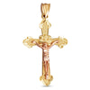 14K Two-toned Cross