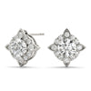 14kt Gold Diamond Earrings - Dia.68ct.