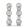14kt Gold Diamond Earrings - D.65ct