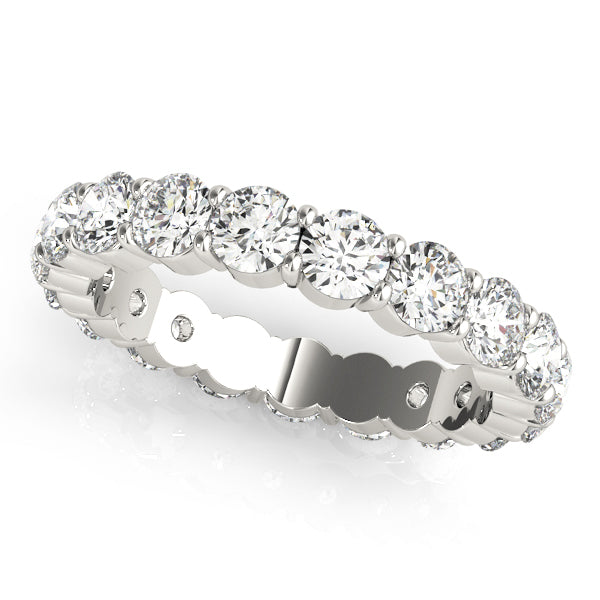 Ladies Common Prong Diamond Eternity Ring - Dia. 87ct