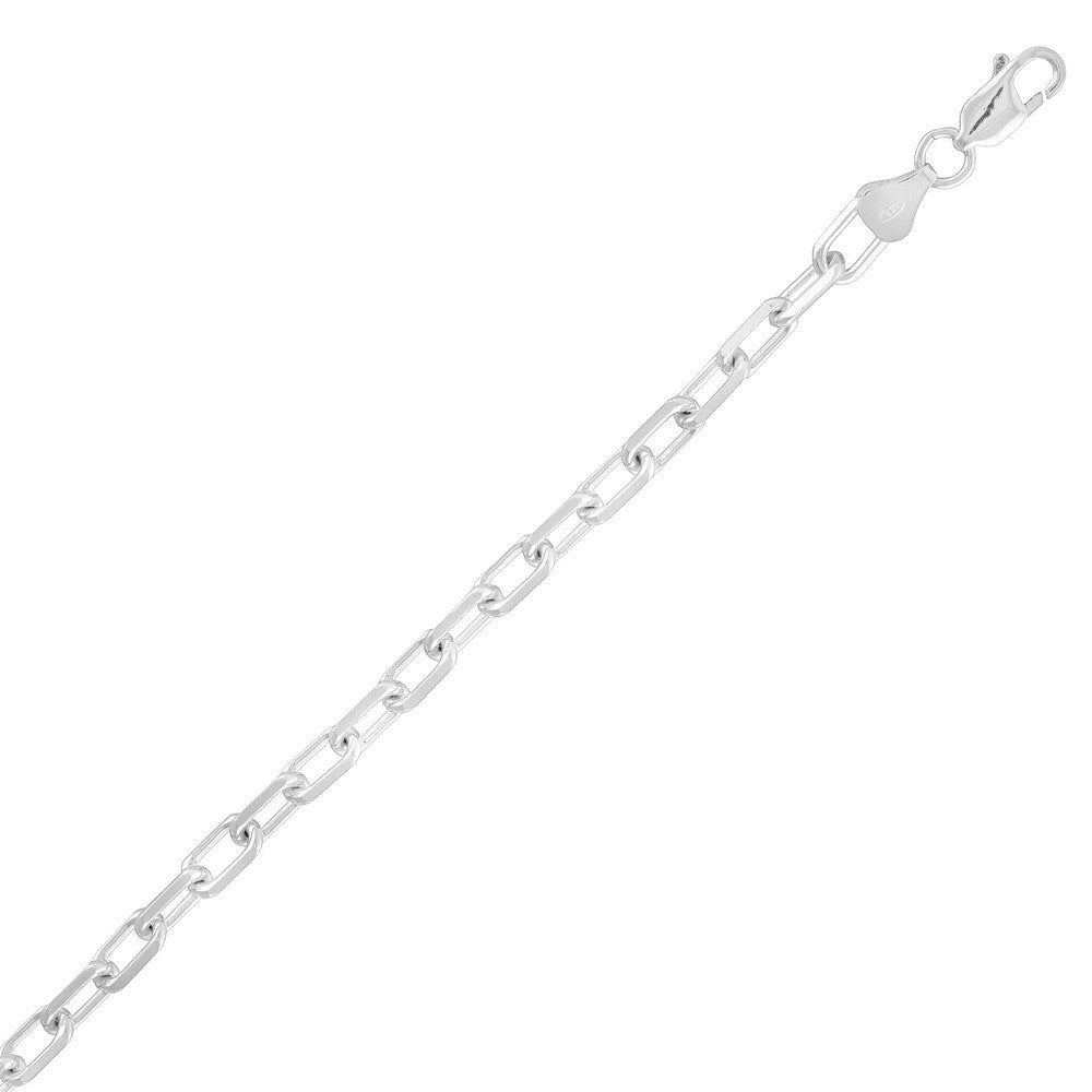 Sterling Silver 5.6mm Anchor Chain - Silver Plated