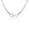22'' Sterling Silver 1.8mm Box Chain - Silver Plated