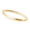 14kt Gold Stackable Ring