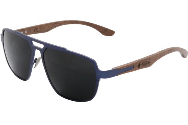 99af3a7dd2 Glacier Point - Titanium   Black Walnut - ShadeTree Sunglasses