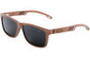 Red Rosewood Sunglasses with Polarized Lenses for Sale