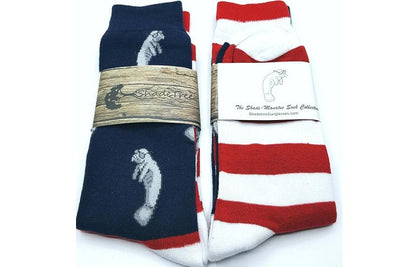 The Shade-Manatee America Sock Collection