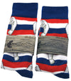 The Shade-Manatee Stars and Stripes Sock Collection