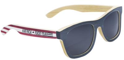 "'Merica ""Fuck Yea"" Wooden Sunglasses for Sale"