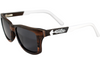 Ebony & Walnut Wood Sunglasses with Polarized Lenses