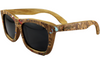Cork Confetti Verawood Sunglasses with Polarized Lenses