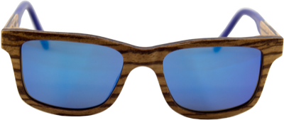 Shadetree sunglasses, Titanium sunglasses, Wood sunglasses, Bamboo sunglasses, polarized sunglasses, Fusion sunglasses, blue lenses, wood sunglasses
