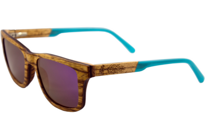 Polarized Zebra Wood Sunglasses for Sale