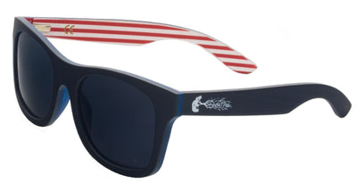 Polarized Patriotic Wooden Sunglasses for Sale