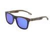 Maplewood Sunglasses with Sky Blue Polarized Lenses
