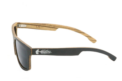 Carbon Fiber Sunglasses, Wood Sunglasses, Shadetree Sunglasses, Wood and Carbon Fiber