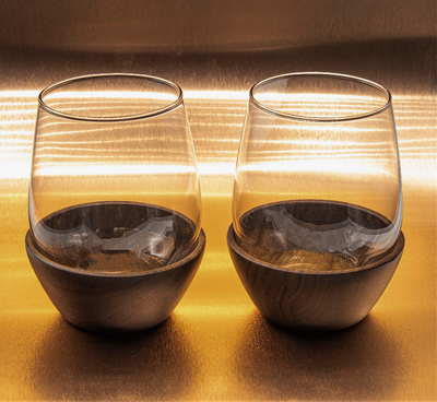 Shadetree Stemless Wine Glasses
