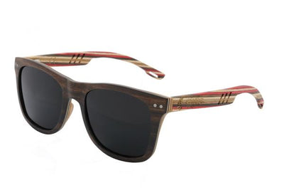 Maplewood Sunglasses with Smoke Black Polarized Lenses