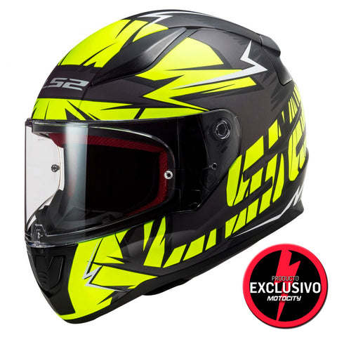 Casco LS2 Subverter Claw Orange