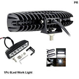 Barra de Luz HF Audio HF-Slim6.0 6 leds