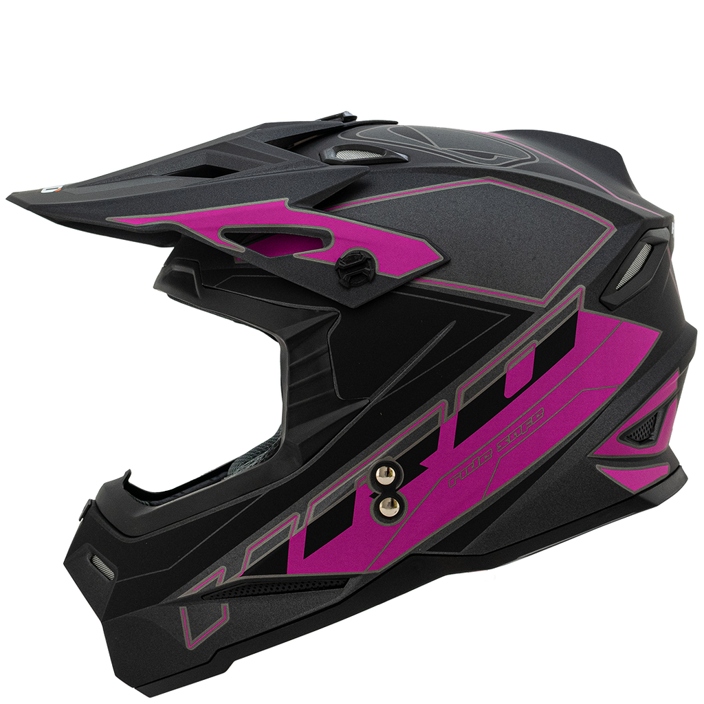 Casco HRO MX03 Premium Mate
