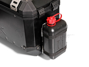 TraX ® Canister Kit. Black. Plastic canister. - MOTOCITY