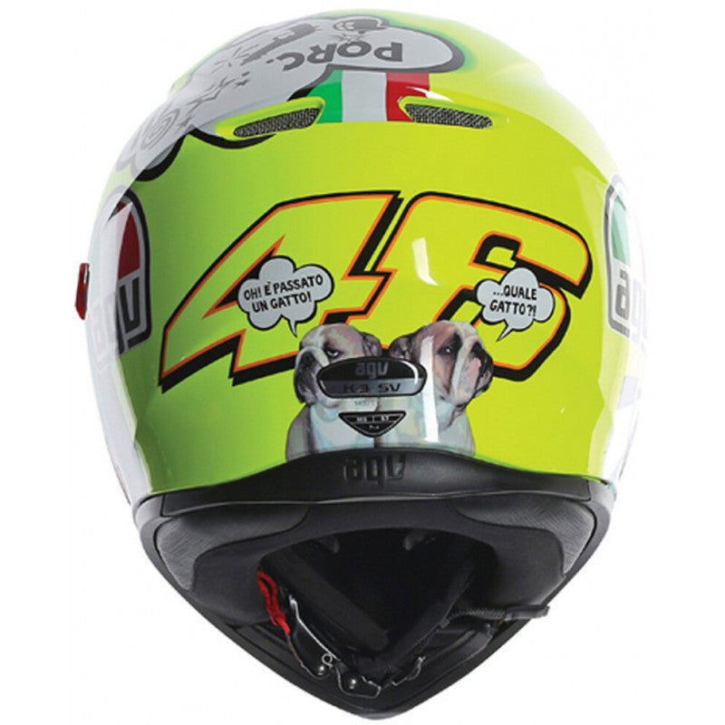 Casco AGV K-3 SV Top Misano 2011