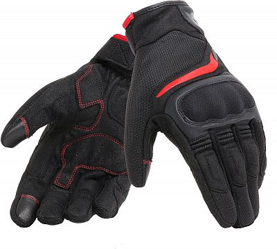 Guantes Dainese Air Master Negro Rojo