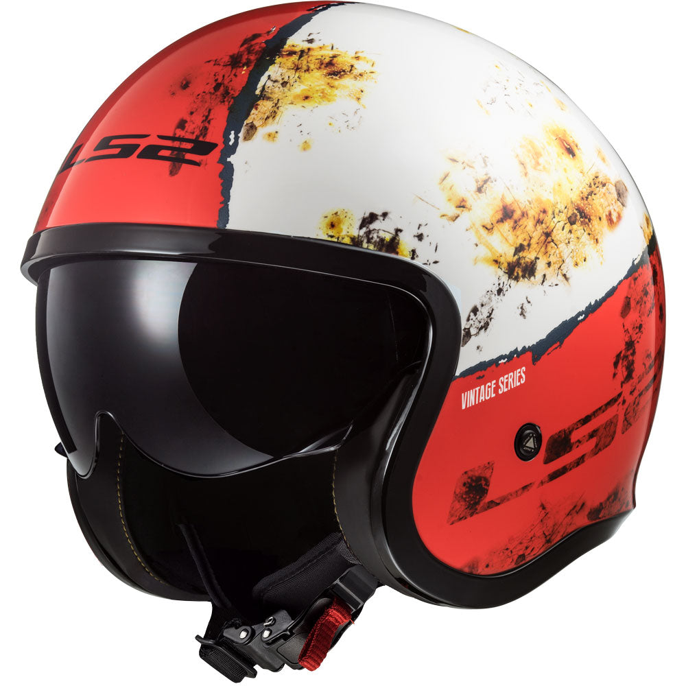 Casco LS2 Of599 Spitfire Rust