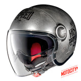 Casco Nolan N21 Visor Moto Gp Legend Chrome