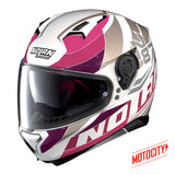 Casco Nolan N87 Plein Air Metal Pink