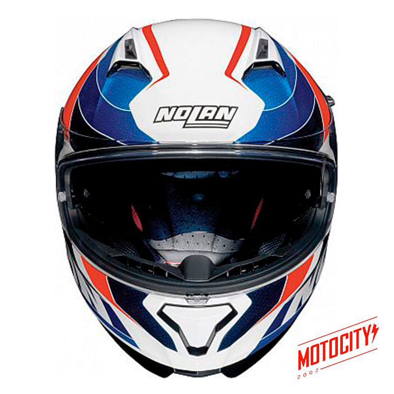 Casco Nolan N87 Plein Air Metal White