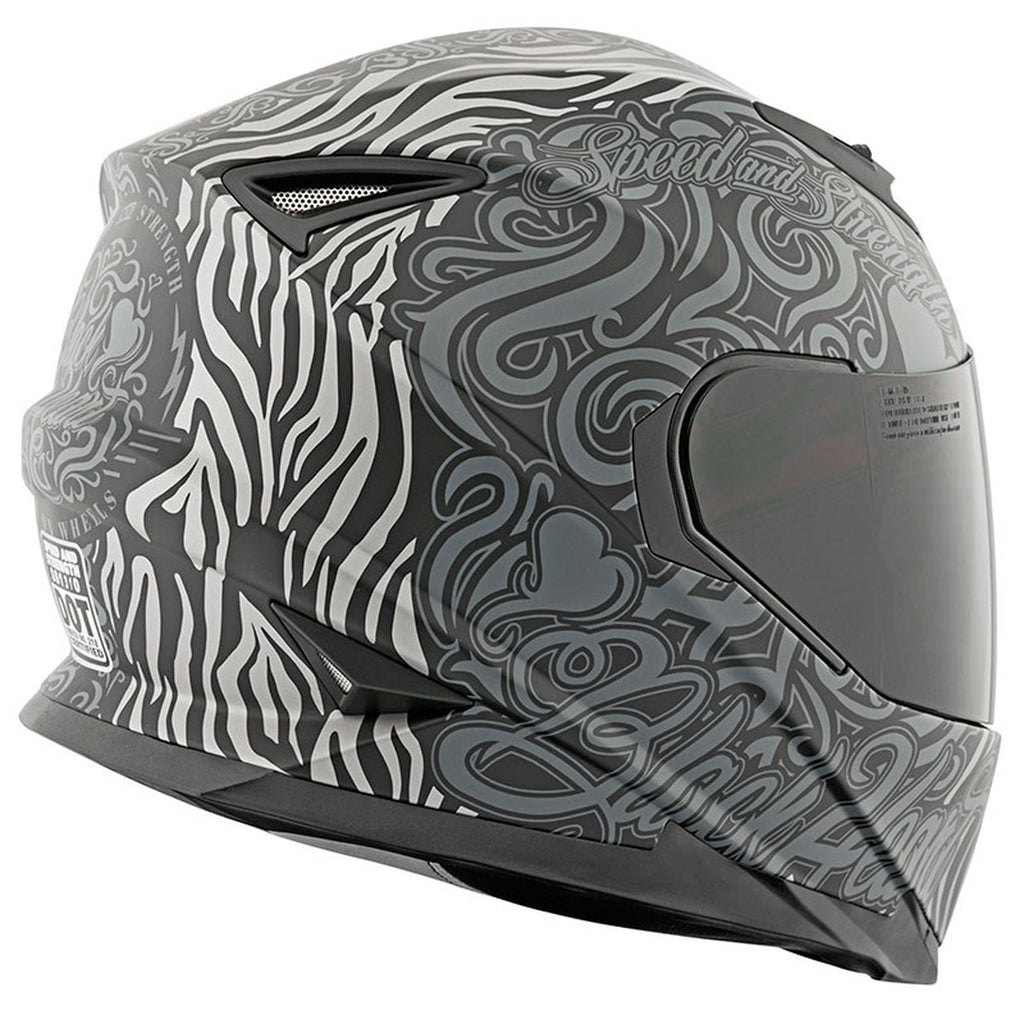 Casco Speed & Strength SS1310 Black Heart