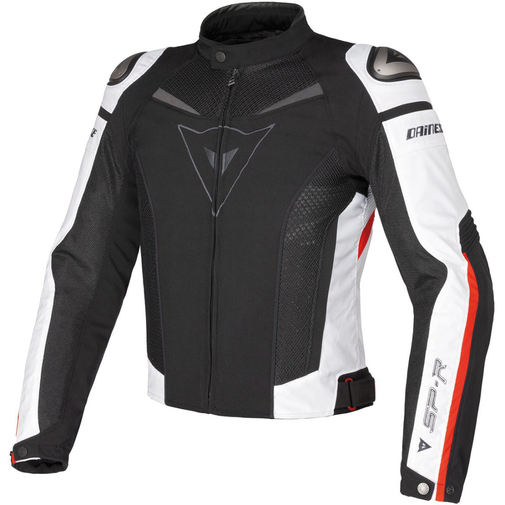 Chamarra Dainese Super Speed Rojo Blanco