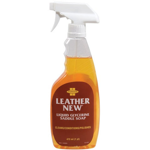 Leather New Liquid Saddle Soap (Spray Bottle) 16oz
