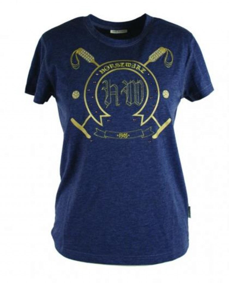 HORSEWARE ANAIS JEWELLED T-SHIRT - Mikes Instinct