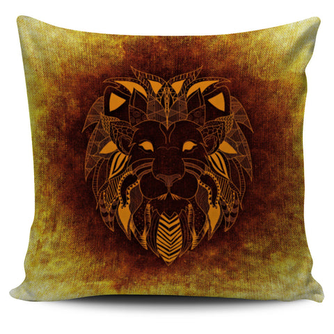 Golden Lion Pillowcase