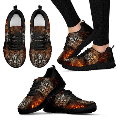 Lion & Skulls Handcrafted Sneakers