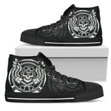Bad A Biker Canvas Shoes