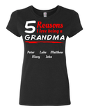 # Of Reasons I Love Being A Grandma - Discount Store Pro - 3